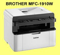 BROTHER-MFC-1910W, 4-in-1 Laser-Multifunktionsdrucker